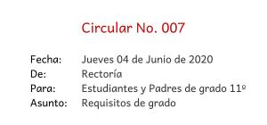Circular 007