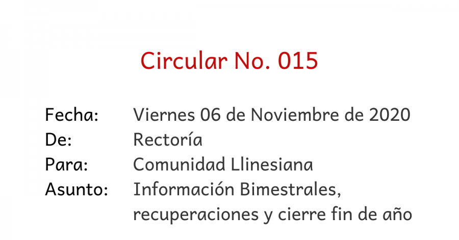 circular 015