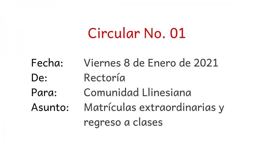 circular 01